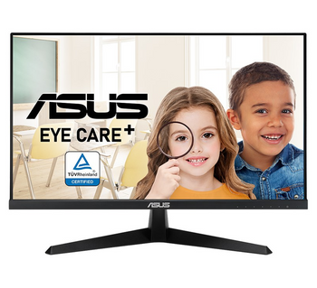 """Asus VY249HE 24"""" FHD 1920x1080 IPS Eye Care Monitor , 1ms, 75hz, 10mil:1, Hdmi, Vga, Tilt, 3yr Wty"""