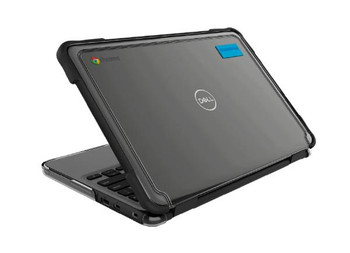 Gumdrop SlimTech for Dell Chromebook 3100 (Clamshell) - Designed for: Dell 3100 Clamshell Chromebook (Touch and Non-Touch version)