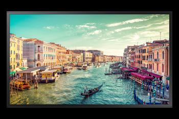 """Samsung (QMR) Crystal Pro Display, 55"""" 4K UHD Signage, 500nits, Dp, Hdmi, Lan, Wifi, Spkr, 24/7, 3yr"""