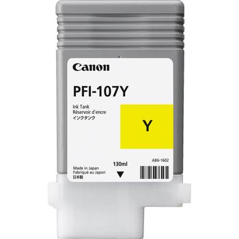 Canon PFI-107Y YELLOW INK - 130ML (PFI-107Y)