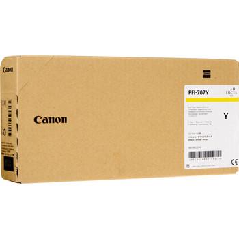 Canon PFI-707Y YELLOW INK - 700ML (PFI-707Y)