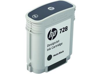 HP 728 69ml Matte Black DesignJet Ink Cartridge (F9J64A)