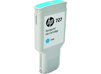 HP 727 300ml Cyan DesignJet Ink Cartridge (F9J76A)