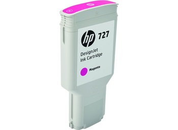 HP 727 300ml Magenta DesignJet Ink Cartirdge (F9J77A)