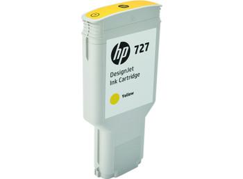 HP 727 300ml Yellow DesignJet Ink Cartridge (F9J78A)
