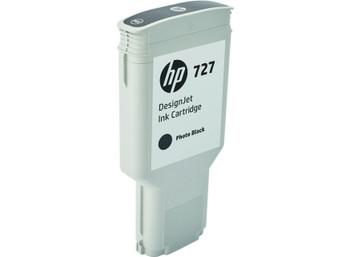 HP 727 300ml Photo Black DesignJet Ink Cartridge (F9J79A)