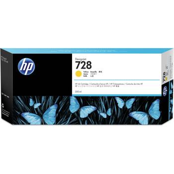 HP 728 300ml Yellow DesignJet Ink Cartridge (F9K15A)