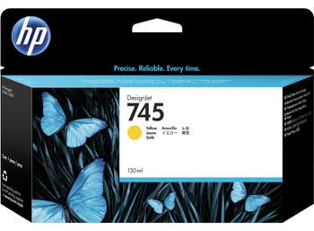 HP 745 130ml Yellow DesignJet Ink Cartridge (F9J96A)