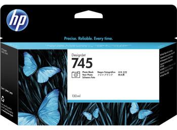 HP 745 130ml Photo Black DesignJet Ink Cartridge (F9J98A)