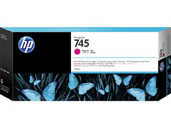 HP 745 300ml Magenta DesignJet Ink Cartridge (F9K01A)