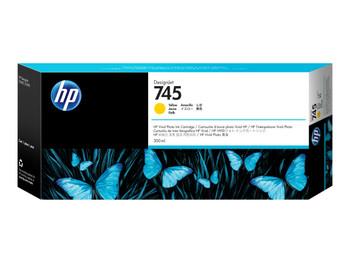 HP 745 300ml Yellow DesignJet Ink Cartridge (F9K02A)