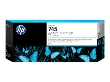 HP 745 300ml Photo Black DesignJet Ink Cartridge (F9K04A)