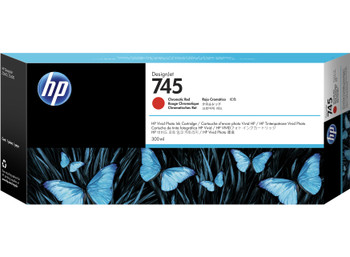 HP 745 300ml Chromatic Red DesignJet Ink Cartridge (F9K06A)