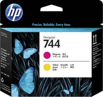 HP 744 Magenta & Yellow DesignJet Printhead (F9J87A)