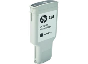 HP No. 728 300ml Matte Black Ink Cartridge (F9J68A)