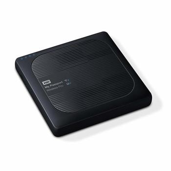 WD My Passport Wireless Pro 1TB Wi-Fi Mobile Storage, USB 3.0, Wireless AC, SD Card slot, PowerBank - Black