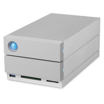 LaCie 2big Dock 20TB (2x10TB 7200RPM Enterprise) USB-C, Thunderbolt 3, DP, Card Reader, 5yr