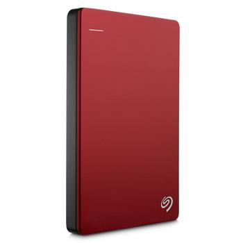 "Seagate Backup Plus Slim Portable 2.5"" 1TB Hard Drive (Red)"
