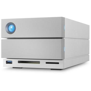 LaCie 2big Dock 8TB (2x4TB 7200rpm Enterprise) Usb-C, Thunderbolt 3, DP, Card Reader, 5yr