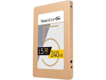"Team Group L5 LITE 3D 2.5"" 240GB SSD, SATA3 3D NAND"