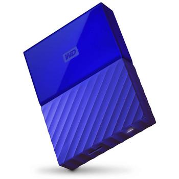 WD My Passport 4TB USB 3.0 Portable Hard Drive - Blue
