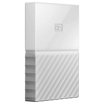 WD My Passport 4TB USB 3.0 Portable Hard Drive - White