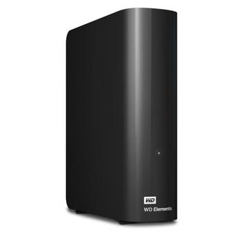 WD Elements 4TB USB3.0 Desktop Hard Drive - Black
