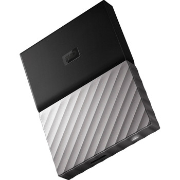 WD My Passport Ultra 1TB USB 3.0 Portable Storage with Metal Finish - Black/Grey