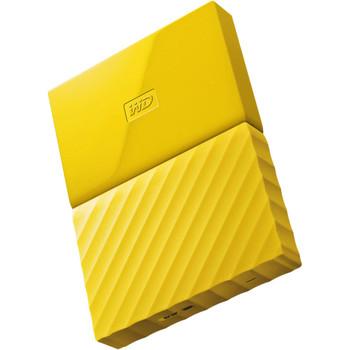 WD My Passport 1TB USB 3.0 Portable Hard Drive - Yellow