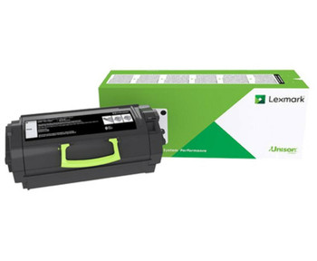 Lexmark 623HE High Yield Corporate Black Toner Cartridge