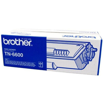 Brother TN-6600 Toner Cartridge Black - 6,000 Pages