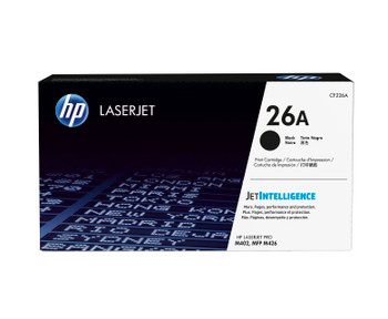 HP 26A (CF226A) LaserJet M402/M426 Standard Yield Black Toner Cartridge