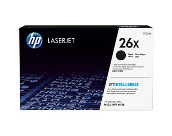 HP 26X (CF226X) LaserJet M402/M426 High Yield Black Toner Cartridge