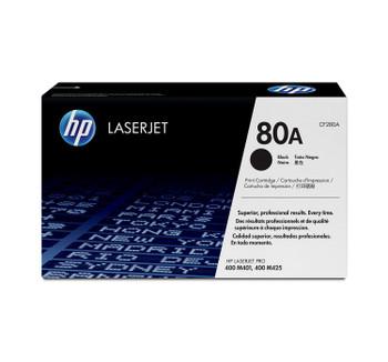 HP 80A (CF280A) LaserJet M401/M425 Standard Yield Black Toner Cartridge