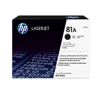 HP 81A (CF281A) LaserJet M604/M605/M606/M630 Standard Yield Black Toner Cartridge