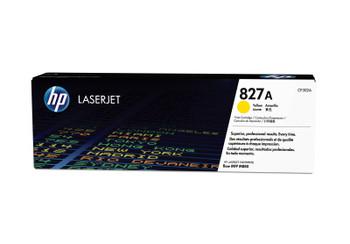 HP 827A (CF302A) LaserJet Enterprise M880 Standard Yield Yellow Toner Cartridge