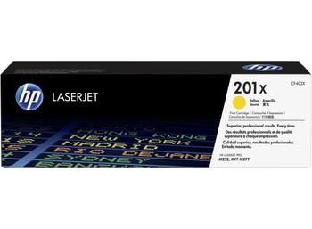 HP 201X High Yield Yellow LaserJet Toner Cartridge (CF402X)