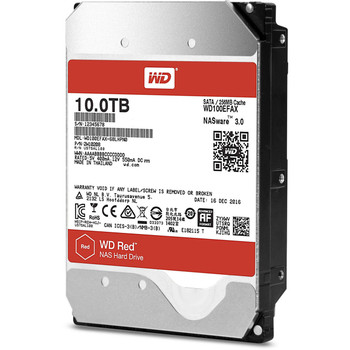 """WD Red 3.5"""" NAS 10TB, SATA, 128MB CACHE, 3 YRS"""