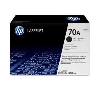 HP 70A (Q7570A) LaserJet M5025/M5035 Standard Yield Black Toner Cartridge