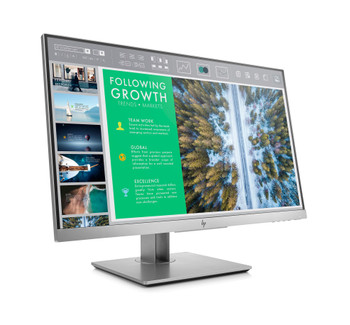 "HP EliteDisplay E243 23.8"" IPS LED Monitor, 1920x1080, 3 Yrs Wty"