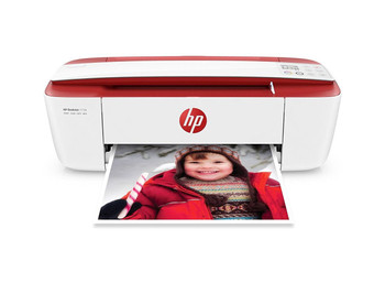 HP DeskJet 3723 All-in-One Printer Cardinal Red (T8W93A)