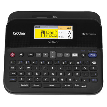 Brother PT-D600 P-Touch 3.5-24mm Desktop Label Printer