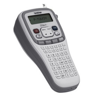 Brother PT-H105 P-TOUCH, 3YR RTB 20MM/SEC, 80 CHAR MEMORY HANDHELD, DIRECT THERMAL