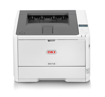 OKI B412dn 33ppm A4 Desktop Mono LED Laser Printer