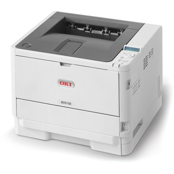 OKI B512DN Mono A4 45ppm Network PCL PS Duplex 630 Sheet +Options Printer