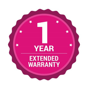 1 ADDITIONAL YEAR GIVING A TOTAL OF 3 YEARS WARRANTY FOR EB-X35