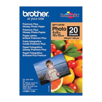 Brother BP71GP20 Glossy Paper (BP-71GP20)