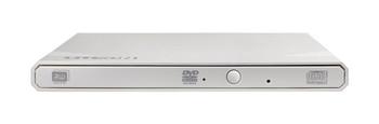 eBAU108 External Slim USB 2.0 DVDRW (White), DVD+RW (8X), Weight: 220g