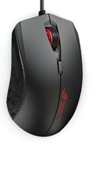 P302 ROG Strix Evolve RGB Gaming Mouse, 7200 dpi, 150 ips, 2M Braided USB Cable, Aura Sync