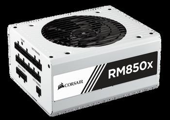 Corsair RM850x Power Supply, Fully Modular 80 Plus Gold 850 Watt, AU Version-100% All Japanese 105 C capacitors- WHITE
